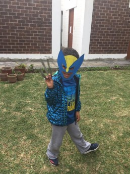 Manualidades máscaras superhéroes Provocarte