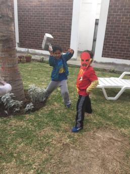 Manualidades máscaras superhéroes Provocarte talleres