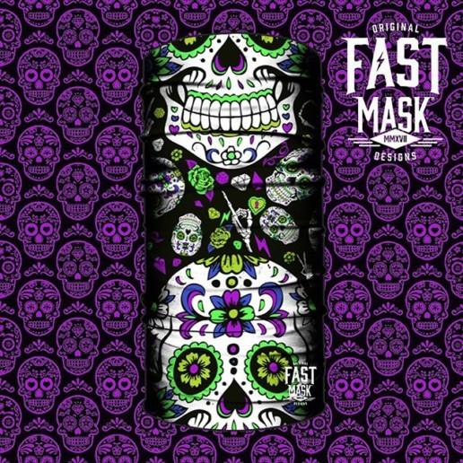 Dia de los Muertos Bandana design by CarlosNieto.com for Fast Mask