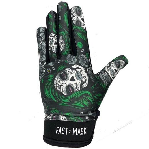 Santa Muerte Gloves designed by CarlosNieto.com